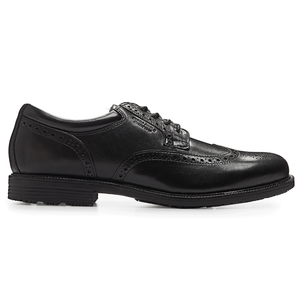 Rockport Essential Details Waterproof Wingtip (Wide Fit)