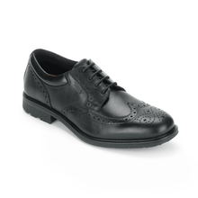 Load image into Gallery viewer, Rockport Essential Details Waterproof Wingtip (Wide Fit)