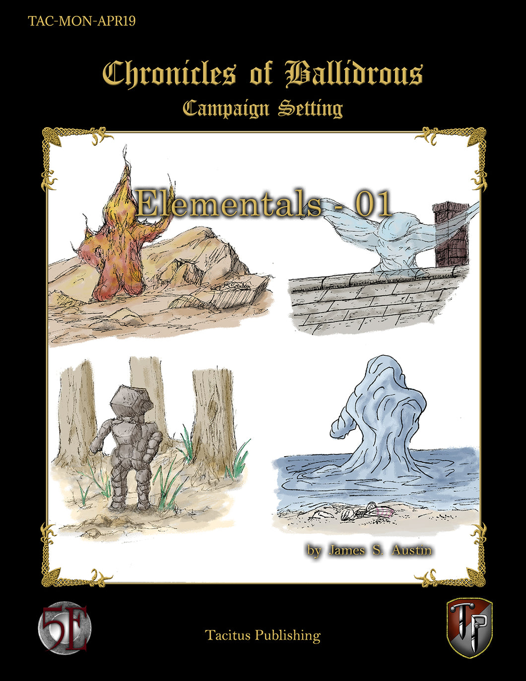 Chronicles of Ballidrous - Elementals - 01 (PDF)