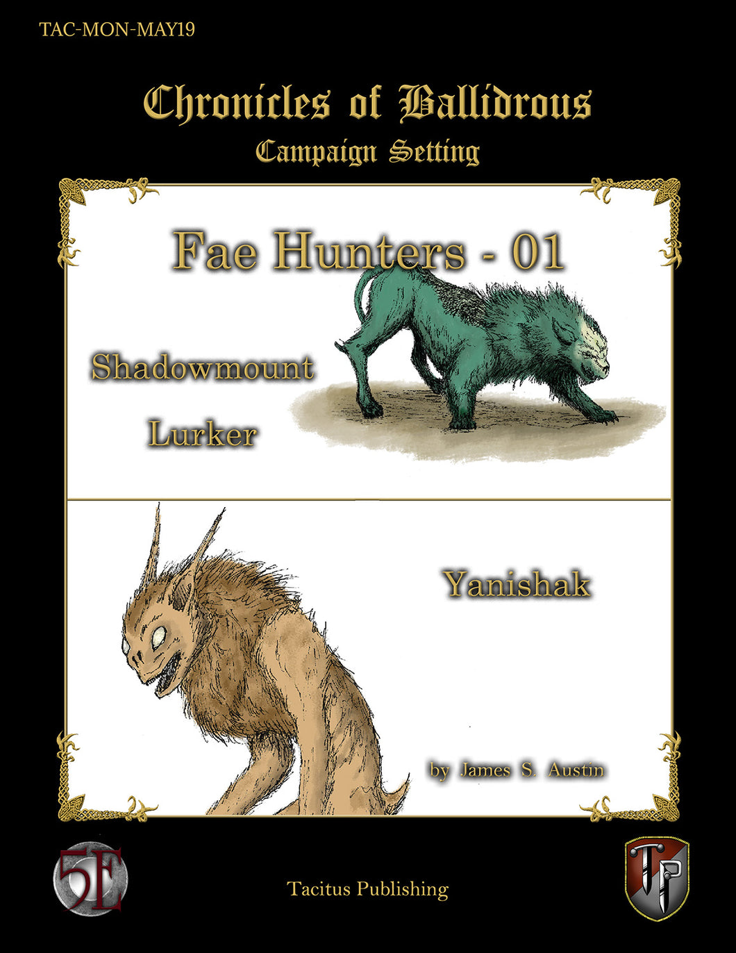 Chronicles of Ballidrous - Fae Hunters - 01 (PDF)
