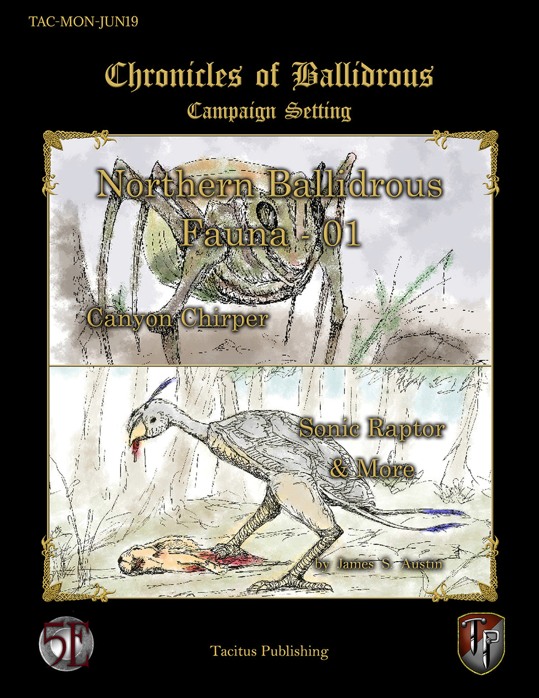 Chronicles of Ballidrous - Northern Ballidrous Fauna - 01 (PDF)