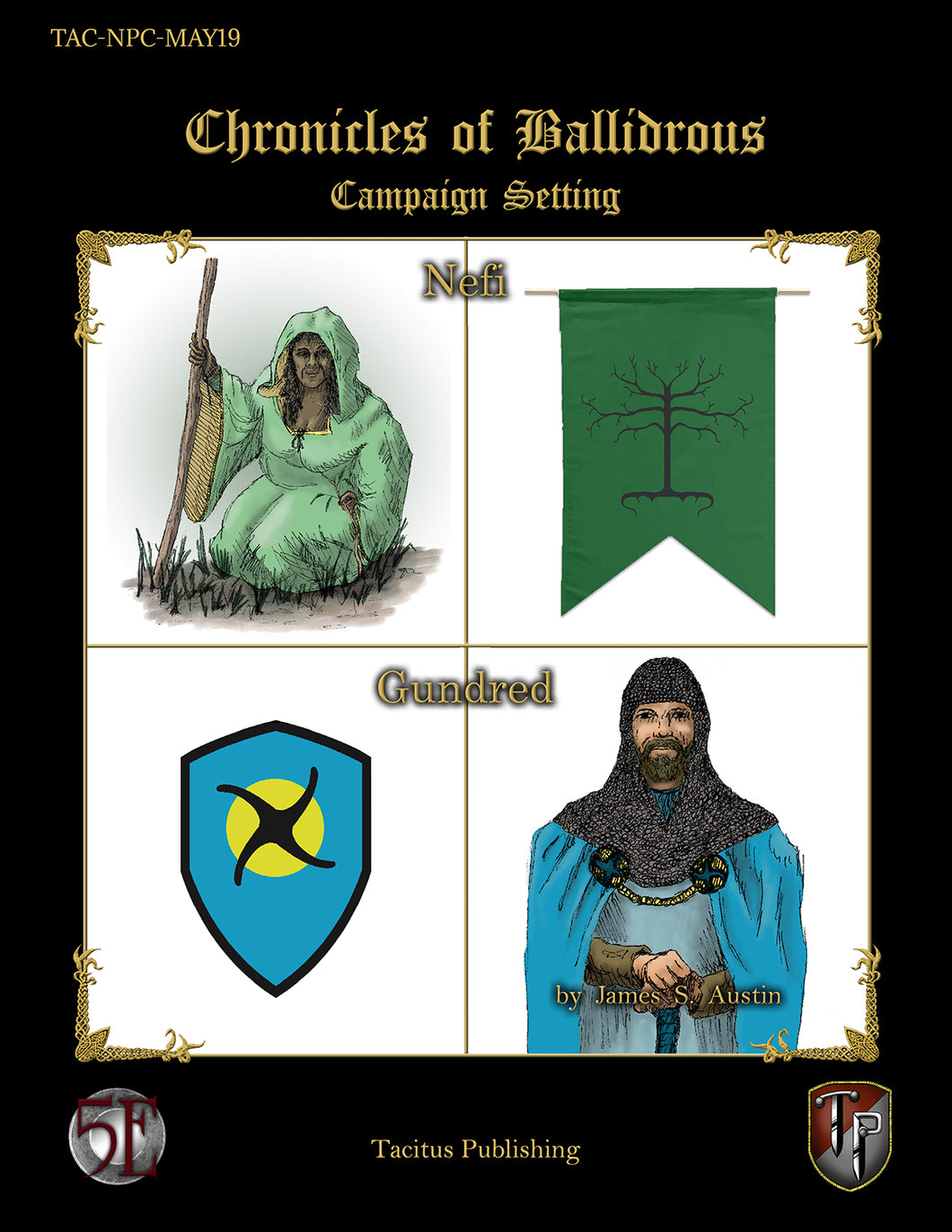 Chronicles of Ballidrous - NPCs - Nefi and Gundred (PDF)