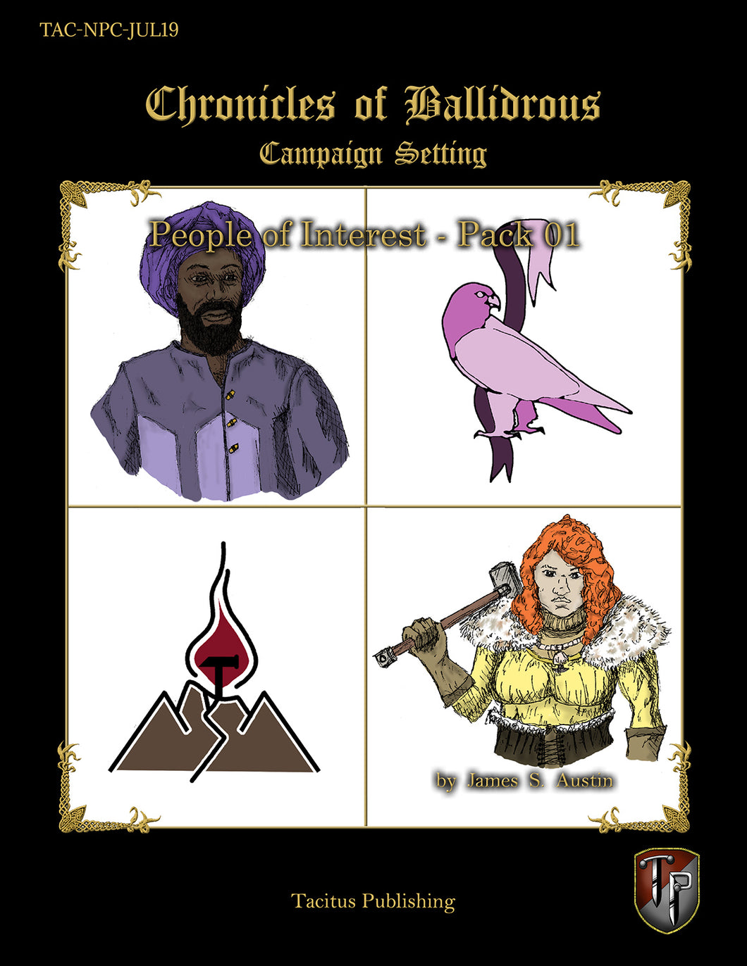 Chronicles of Ballidrous - People of Interest - Pack 01 (PDF)