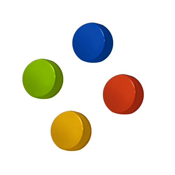Rainbow buttons for Pocketgo
