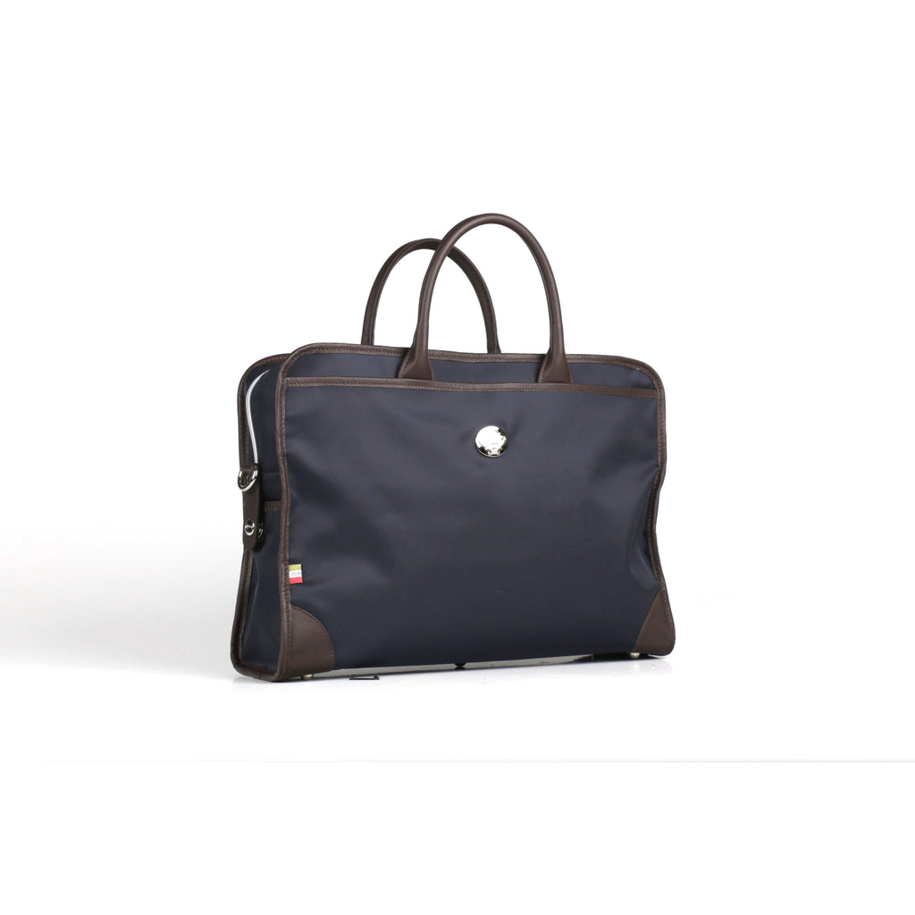 Rufus Briefcase in Navy
