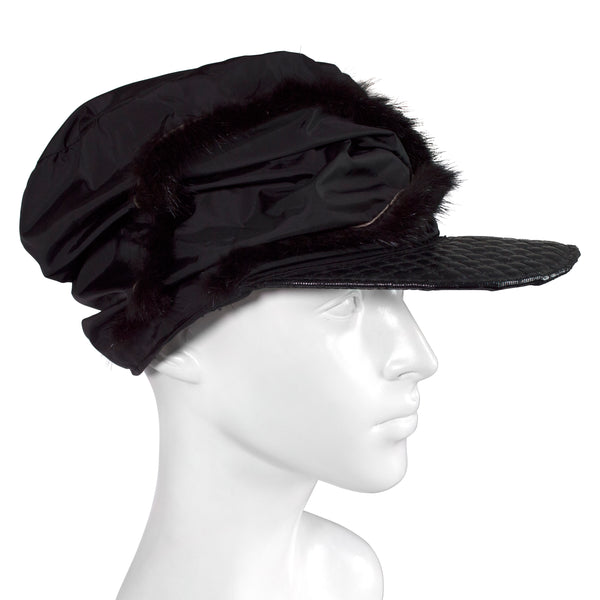 Black Winter Cap