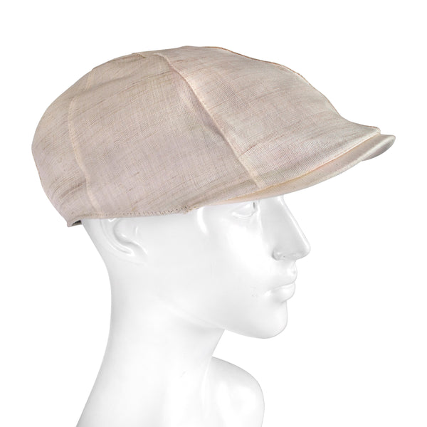 Newsboy Cap in Beige