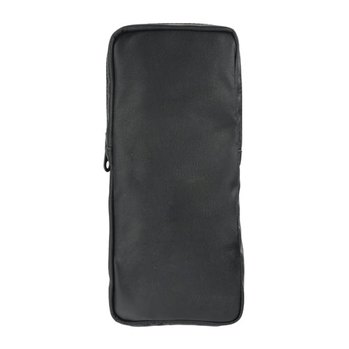 Attakko Vertical Pouch in Silkpowder and Soft Carbon Fibre