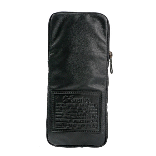 Dekollo Pouch Organiser in Silkpowder and Soft Carbon Fibre