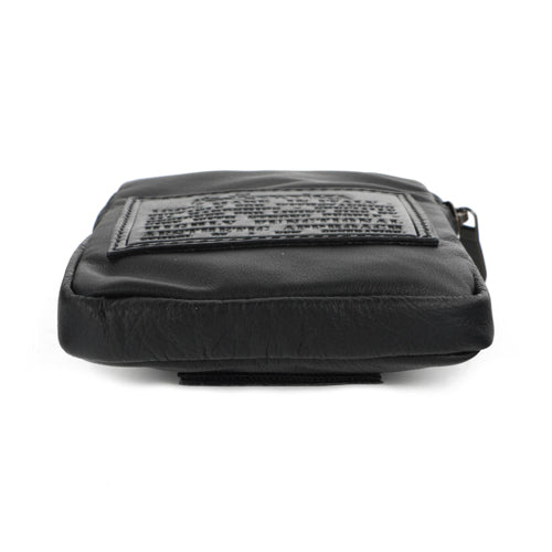 Karica Pouch Organiser in Silkpowder and Soft Carbon Fibre