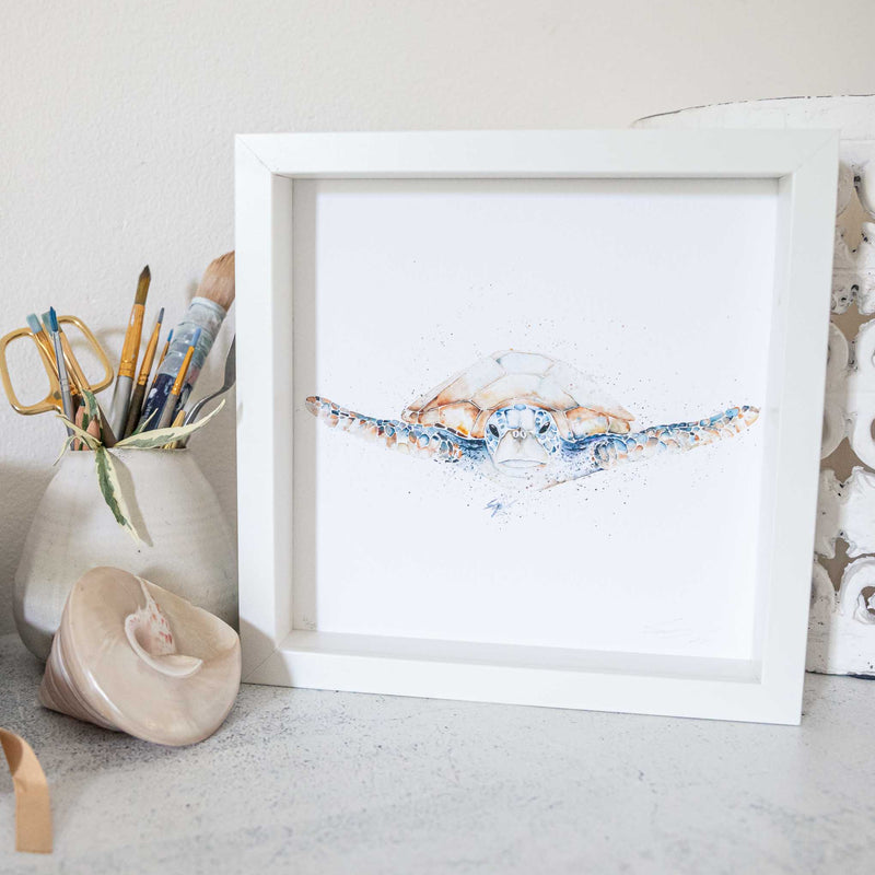 Turtle Artwork Framed Print