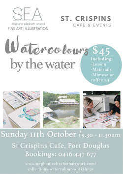 Watercolours By The Water - Sunday 11th October