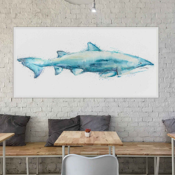 Grey Nurse Shark Acrylic Original Wall Art