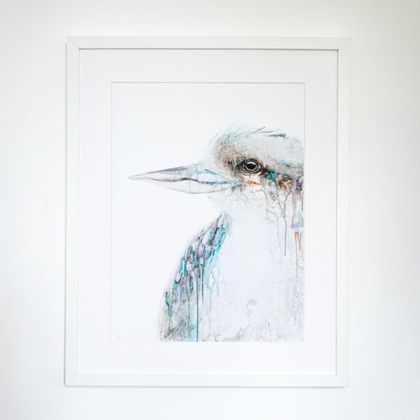 Kookaburra limited edition framed print