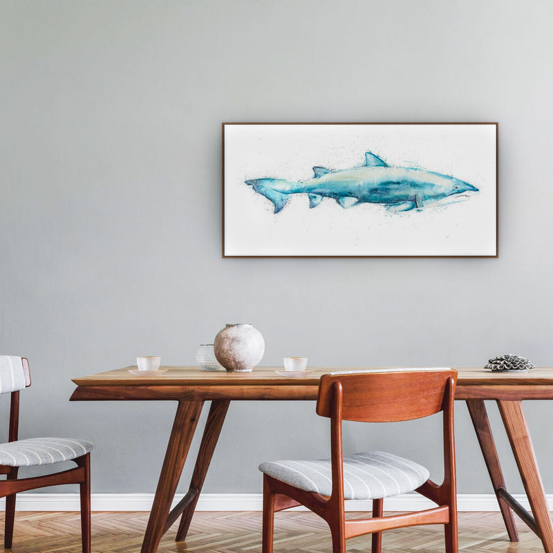 Grey Nurse Shark Canvas Print