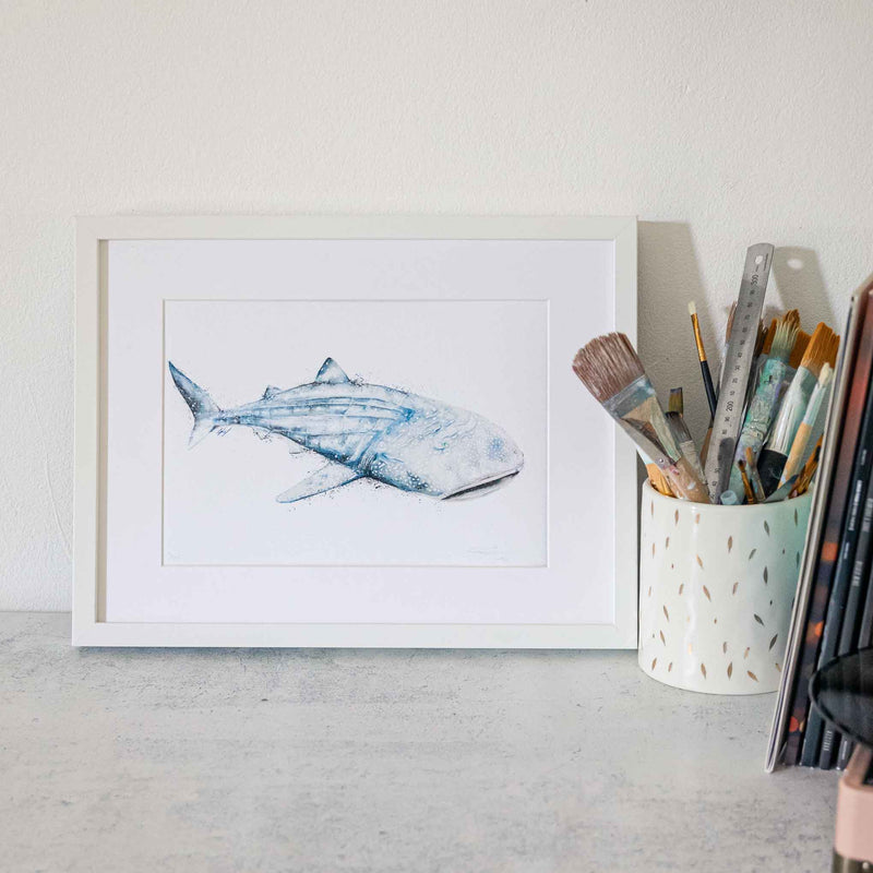 Wall Art Decor Whale Shark