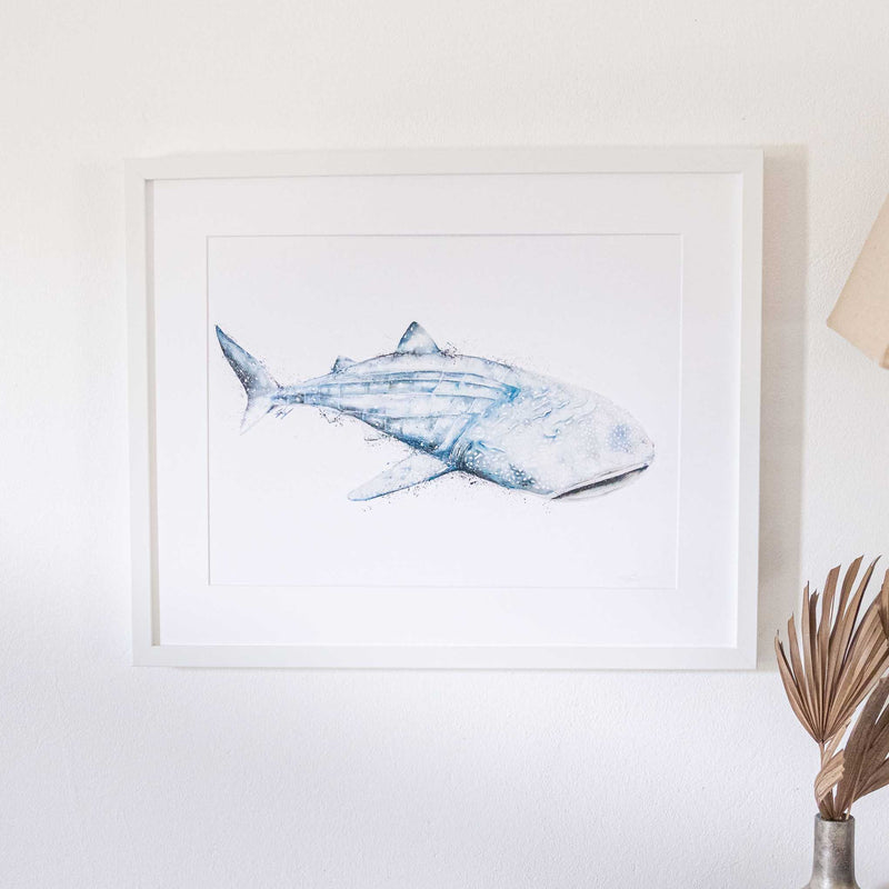 Framed Whale Shark Wall Art