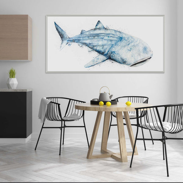 Whale shark feature piece wall art