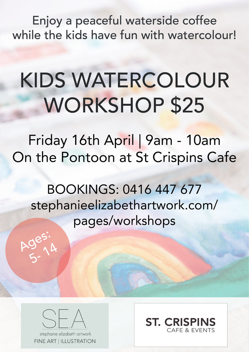 Kids Watercolour workshops