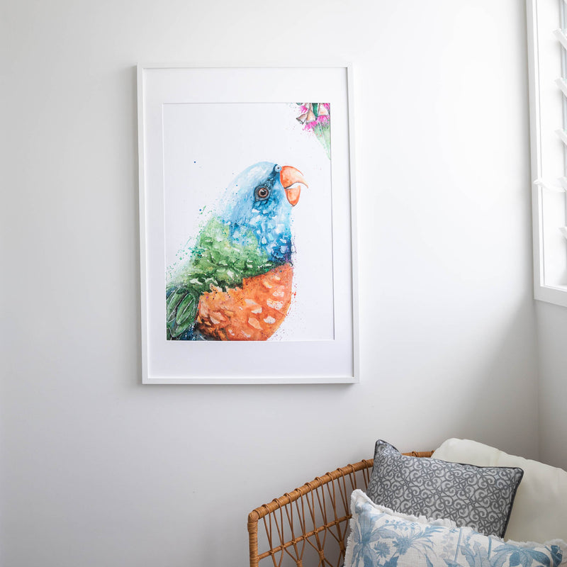 Rainbow Lorikeet Wall Art