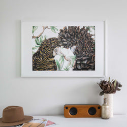 Black Cockatoos Wall Art