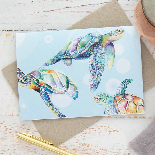 Turtle Greeting Cards Australia