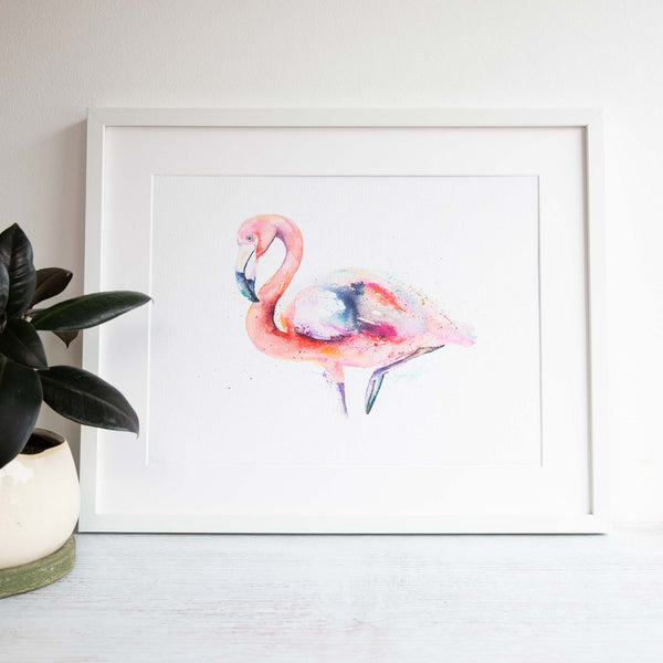 Feathered Fancy Framed print