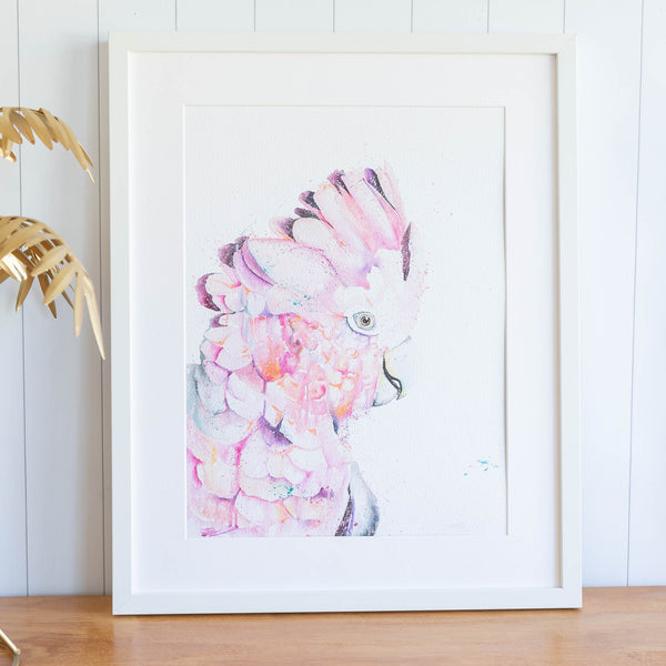 Rose Water framed print by Stephanie Elizabeth Artwork