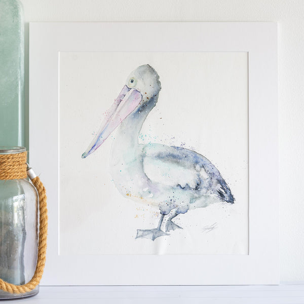 Watercolour animals artwork pelican parade