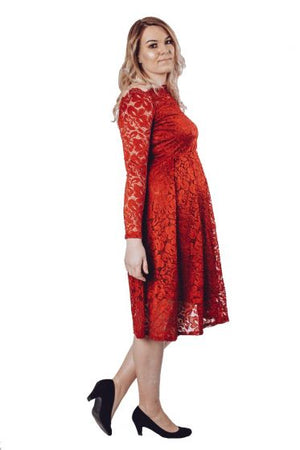 Bardot Lace Dress