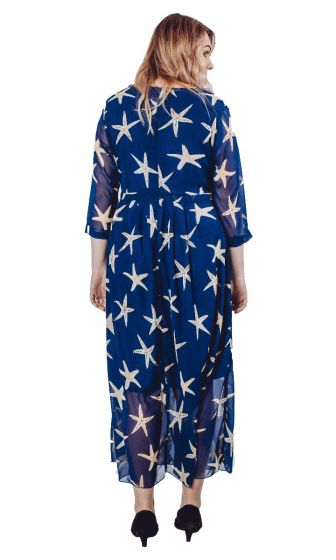 STARFISH PRINT DRESS