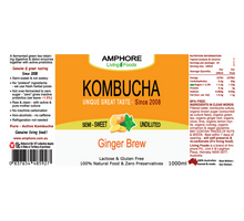 Load image into Gallery viewer, BLENDED KOMBUCHA 1L (Digestion, Detox & Recovery)