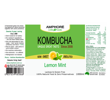 Load image into Gallery viewer, BLENDED KOMBUCHA 1L (GREAT VALUE 9 Pack)