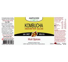 Load image into Gallery viewer, BLENDED KOMBUCHA 330ml (GREAT VALUE 12 Pack)