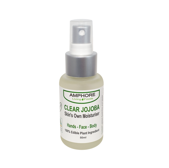 CLEAR JOJOBA 50ml & 100ml (Skin's Own Moisturiser)