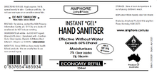 Load image into Gallery viewer, INSTANT GEL SANITISER (With Moisturiser) - 250ml Economy Pack