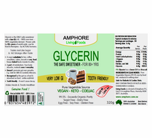 Load image into Gallery viewer, PURE VEGETABLE GLYCERIN 320g - The Only Safe Sweetener