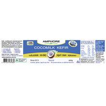 Load image into Gallery viewer, COCOMILK KEFIR 400g  (Non-dairy Multi-Probiotic Yogurt Replacement)