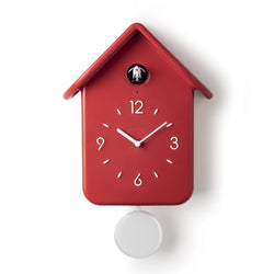 QQ CUCKOO CLOCK - RED