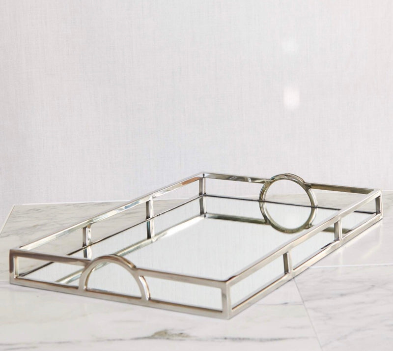 Small Rectangle Arch Handle Tray 41cm