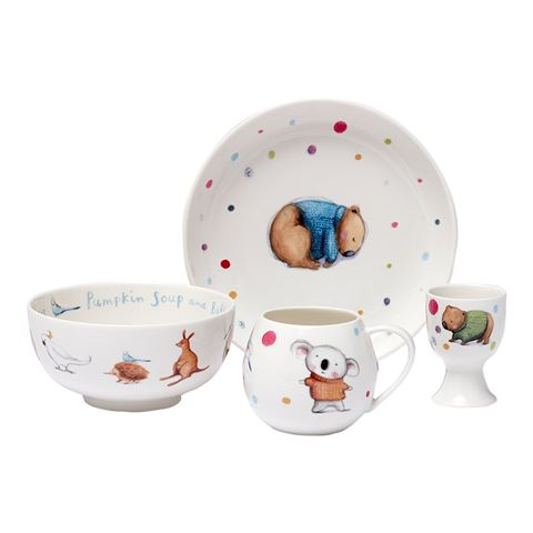 BARNEY GUMNUT & FRIENDS - KIDS DINING SET