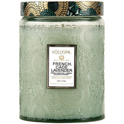 FRENCH CADE & LAVENDER 100HR CANDLE