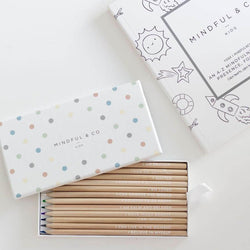 AFFIRMATION COLOURING PENCILS