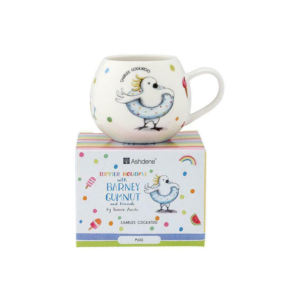 BARNEY GUMNUT & FRIENDS - COCKATOO MUG