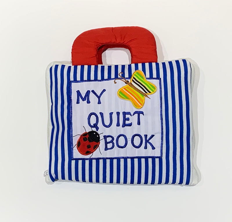 MY QUIET BOOK BLUE STRIPE