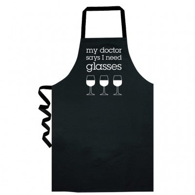MY DOCTOR SAYS APRON