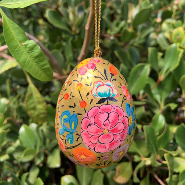 HANDPAINTED HANGING  EGGS