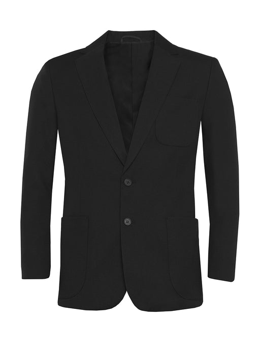 Boys Plain Black Blazer