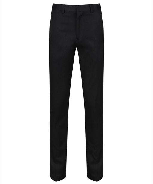 Charcoal Boys Trousers