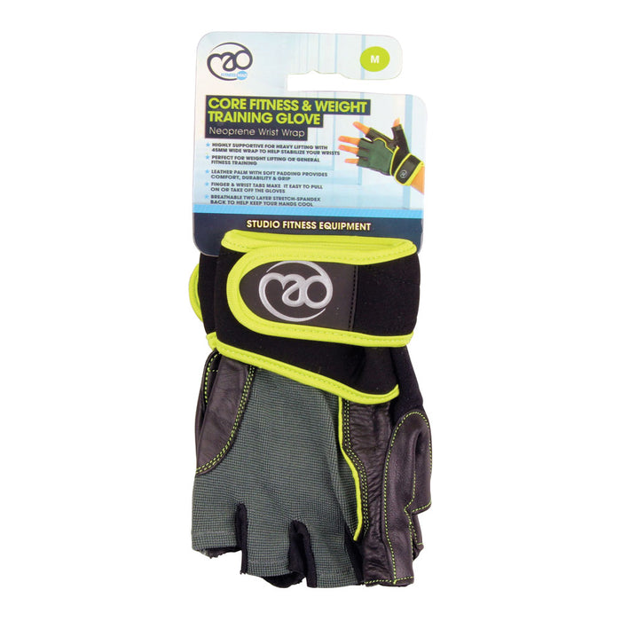 Core Fitness & Weight Training Gloves